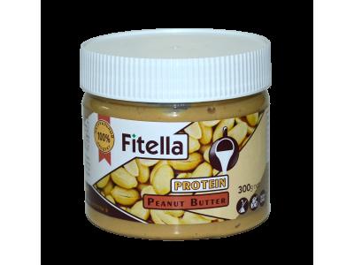 Арахисовая паста протеиновая 300г Fitella фителла