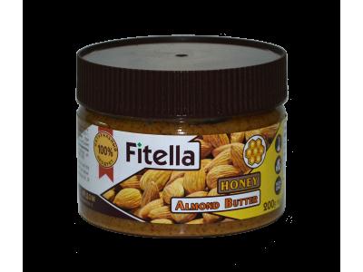 Миндальная паста с медом 200г Fitella фителла