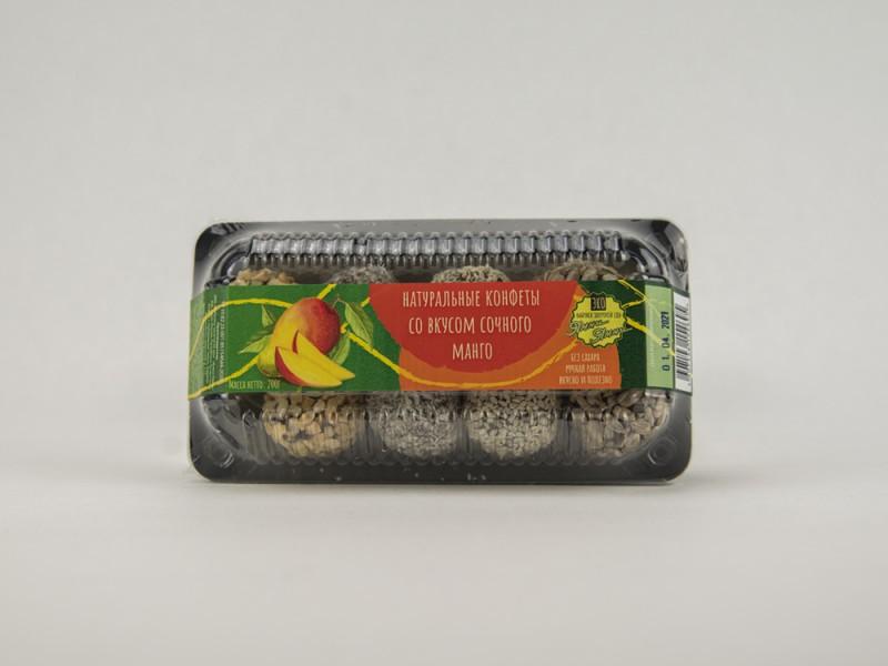 Конфеты натуральные со вкусом Манго 200 г Ямми Ямми