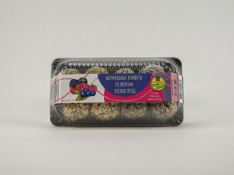 Конфеты натуральные со вкусом Лесных ягод 200 г Ямми Ямми