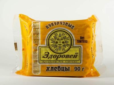 Хлебцы рисово кукурузные 90 г Здоровей