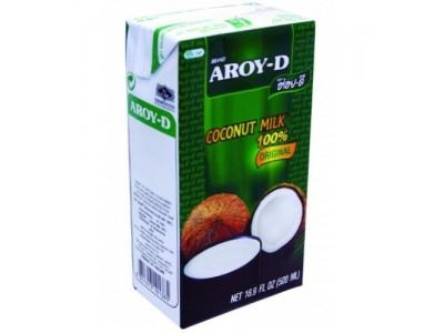 Кокосовое молоко 500 мл  тетра пак AROY-D