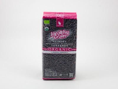 Рис черный органический тайский 1кг SAWAT-D
