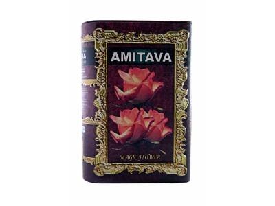 Чай AMITAVA 200гр книга в ассортименте