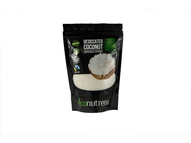 Кокосовая стружка FINE 150 г Econutrena