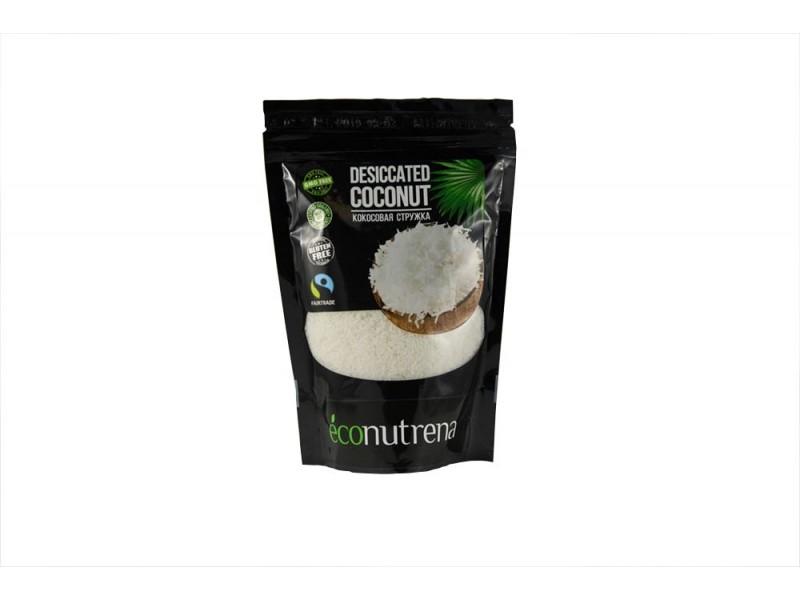 Кокосовая стружка низкой жирности LOW FAT 150 г Econutrena