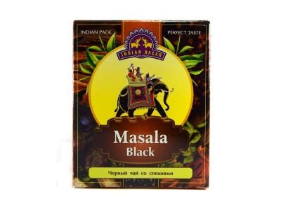 Чай черный со специями масала 150 г INDIAN BAZAR коробка