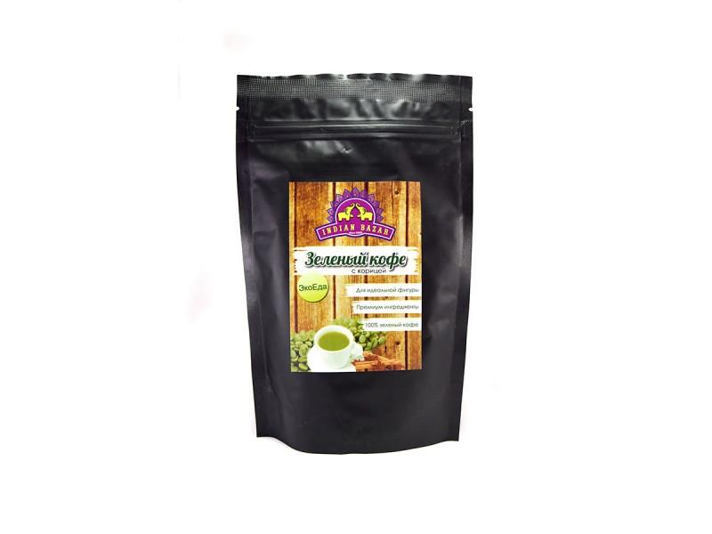 Кофе зеленый с корицей 100г INDIAN BAZAR