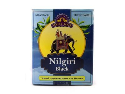 Чай черный Нилгири 200г INDIAN BAZAR коробка