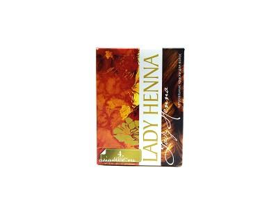 Краска для волос на основе хны Каштан 6*10г Леди Хенна