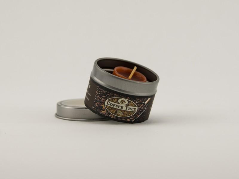Свеча ароматическая в баночке 5 см Чашка кофе