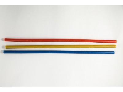 Свеча малая восковая цветная 25 см Сфинкс