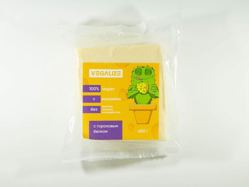 Продукт плавленый Веганский со вкусом сыра 450 г VEGALIZE