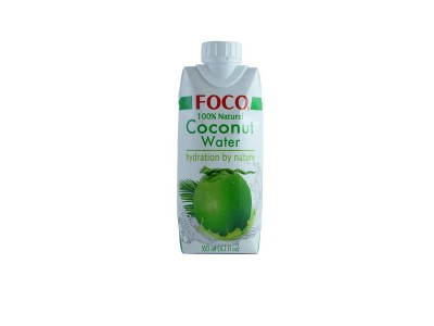 Кокосовая вода 330 мл FOCO  тетра-пак