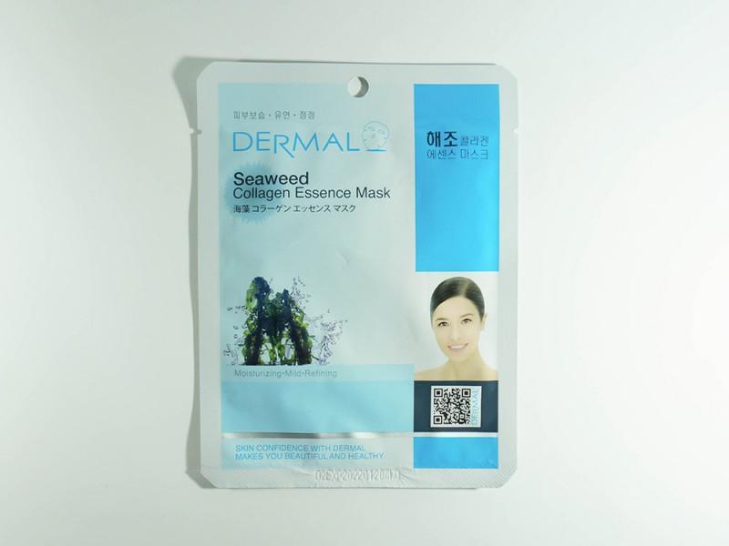 Маска для лица Морские водоросли и коллаген 23 г Dermal