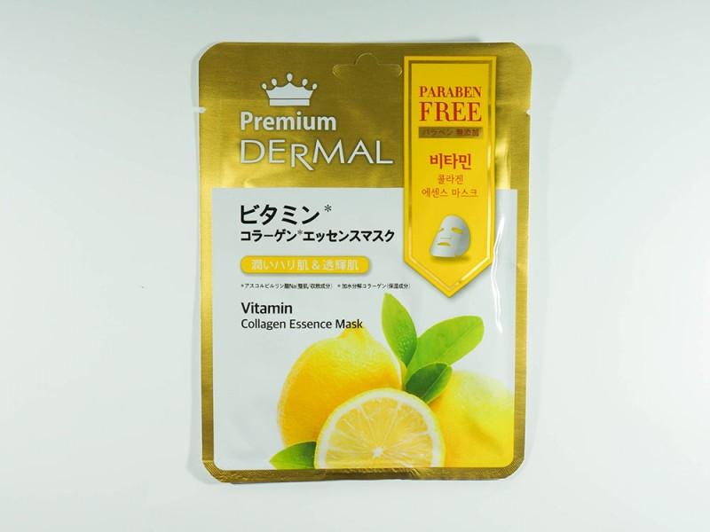 Маска эссенция коллагеновая с Витаминами Dermal Premium