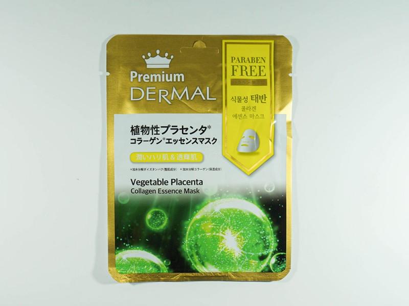 Маска эссенция коллагеновая с Растительной плацентой Dermal Premium