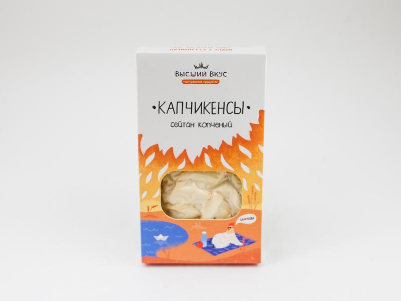 Сейтан копченый Капчикенсы 100 г Высший вкус