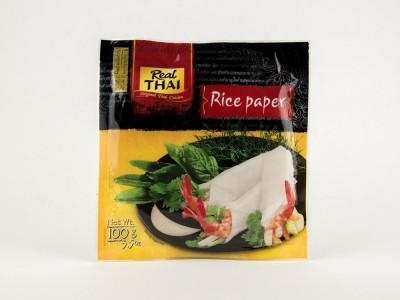 Бумага рисовая 16 см 100 г REAL THAI