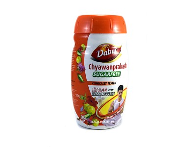 ЧАВАНПРАШ DABUR SugarFree 500 г травяная смесь без сахара