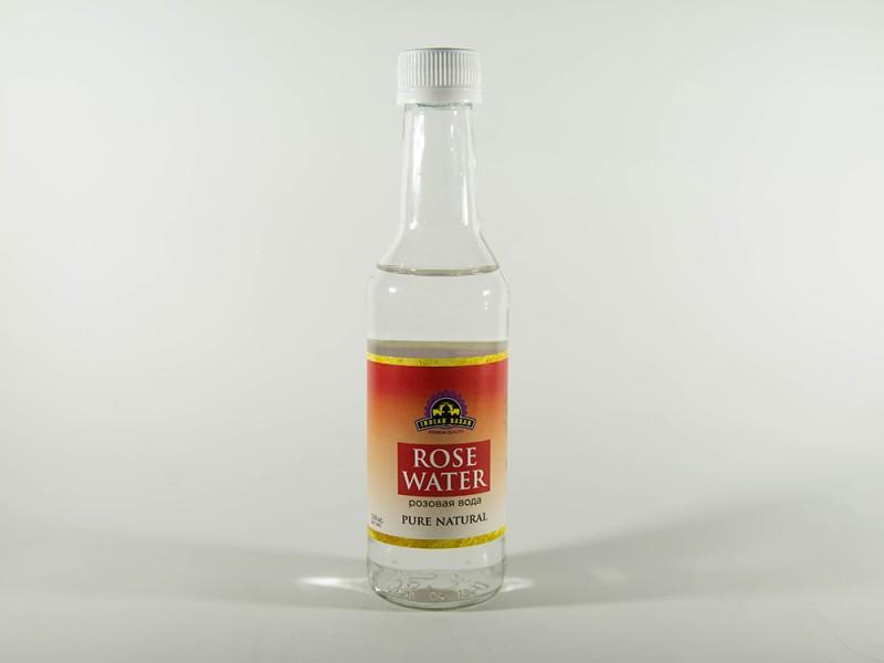 Розовая вода пищевая 230 мл INDIAN BAZAR
