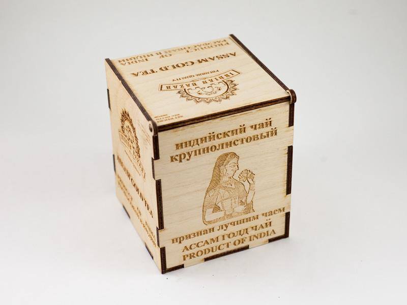 Чай Ассам 200г INDIAN BAZAR деревяная коробка