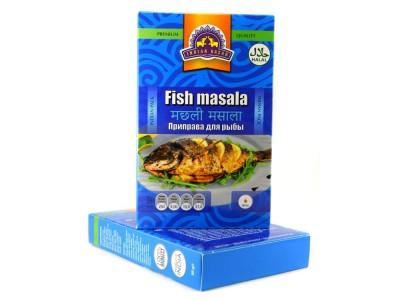 Приправа для рыбы 50 г  INDIAN BAZAR коробка
