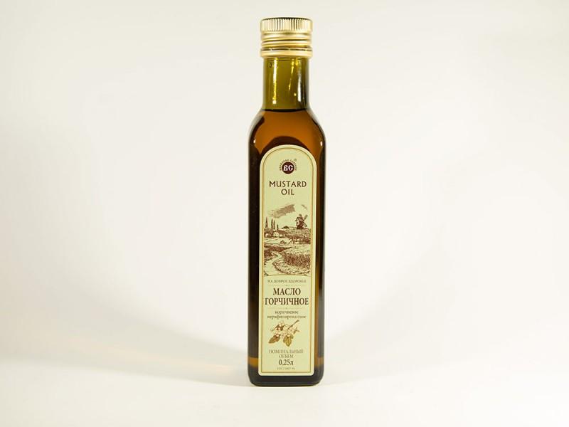 Масло горчичное 0,25л стекло Василева слобода