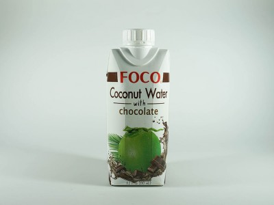 Кокосовая вода с шоколадом 330 мл FOCO тетра-пак