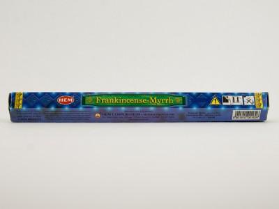 Аромапалочки HEM Frankincense-Myrrh  Хем