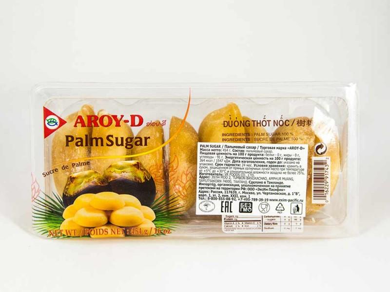 Сахар пальмовый 454 г AROY-D