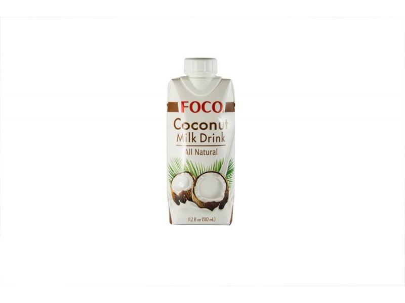 Кокосовый молочный напиток 330 мл FOCO тетра-пак