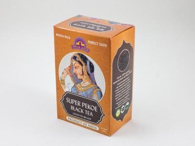 Чай супер Пеко цейлонский крупнолистовой 100г INDIAN BAZAR коробка