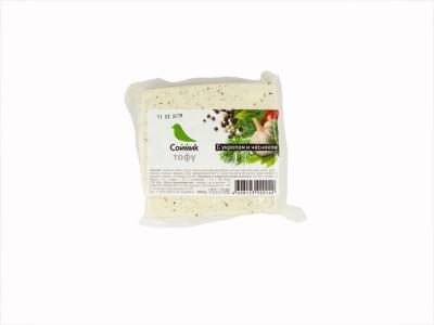 Тофу с укропом и чесноком 300 г м/у Соймик