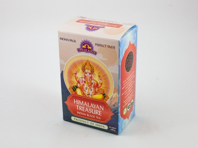 Чай черный Сокровища гималаев 100г INDIAN BAZAR коробка