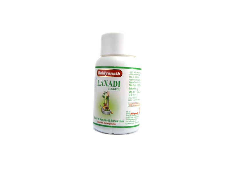 БАД LAXADI лакшади guggulu 80 таблеток Baidyanath