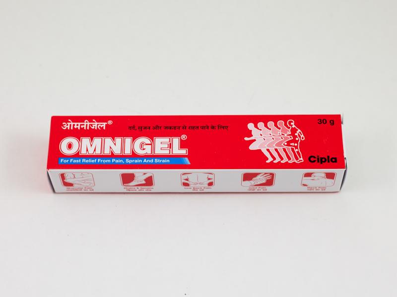Аюрведический обезболивающий гель 30 г Омнигель OMNIGEL