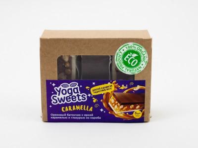 Батончик арахисовый CARAMELLA 3 шт 135г Yoga Sweets
