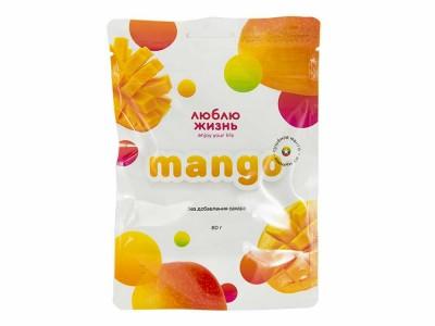 Манго сушеный 80 г Люблю Жизнь