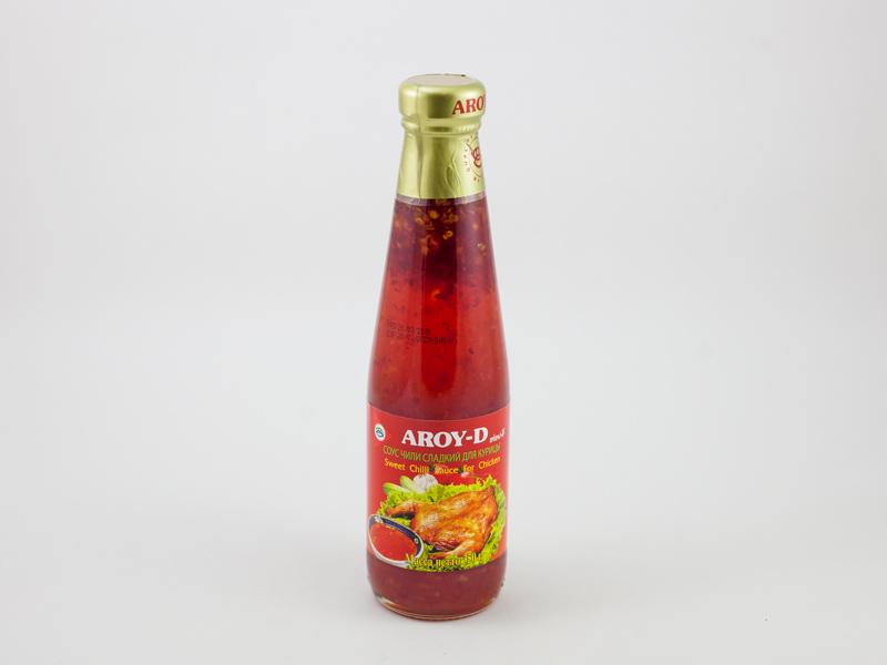Соус чили сладкий  для курицы AROY-D 350 г ст/б