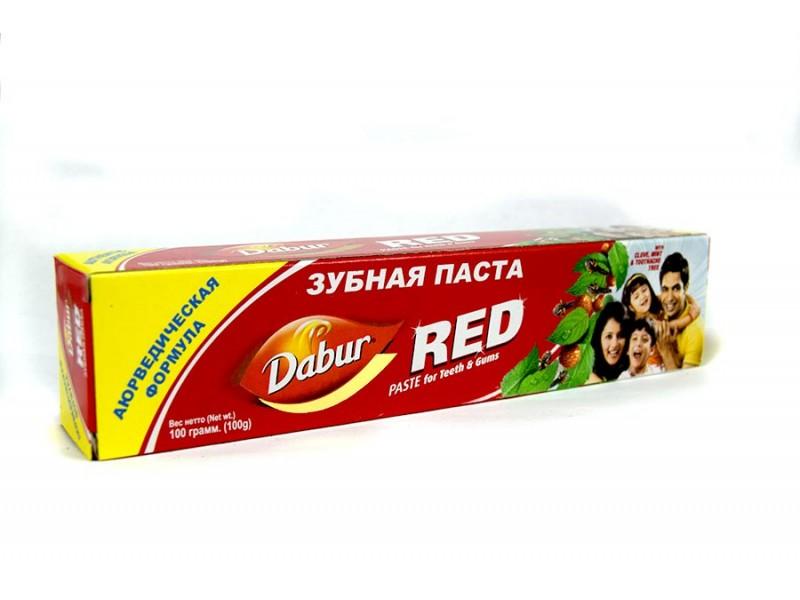 Зубная паста 100 г Dabur RED
