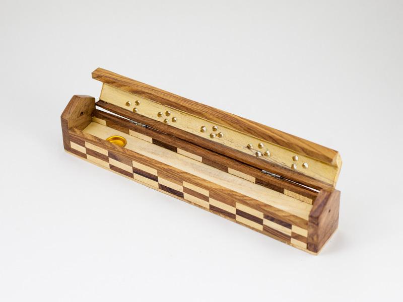 Подставка пенал для аромопалочек деревянная