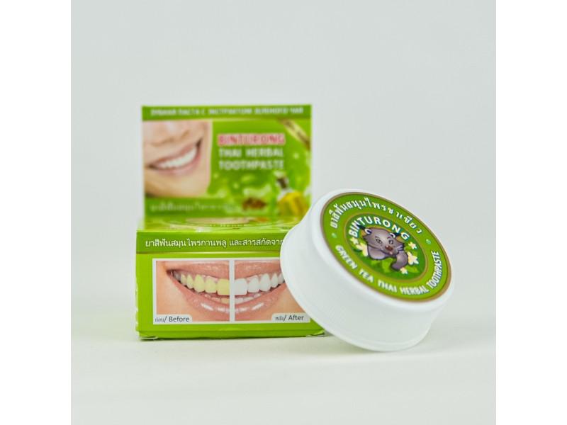 Зубная паста Зеленый чай 33 г Бинтуронг
