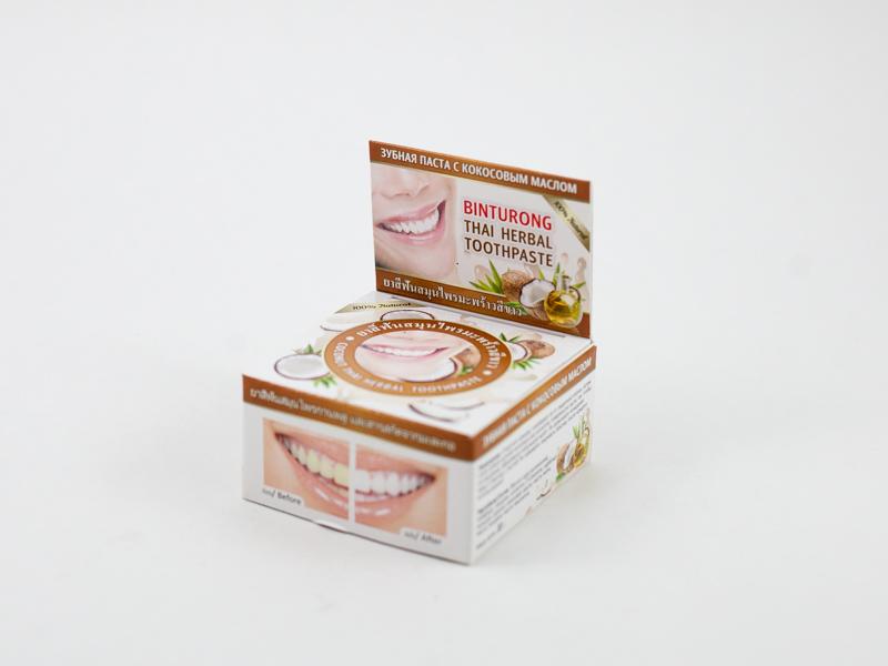 Зубная паста Кокос 33 г Бинтуронг