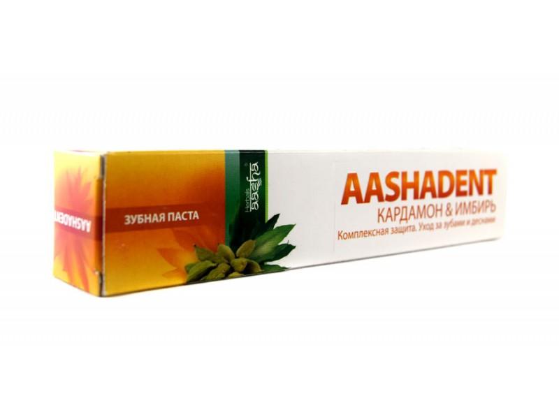 Зубная паста Кардамон имбирь 100г Ааша