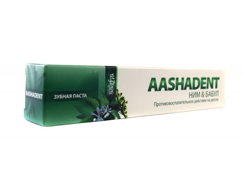 Зубная паста Ним бабул 100г Ааша