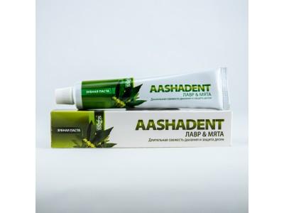 Зубная паста Лавр мята 100г Ааша