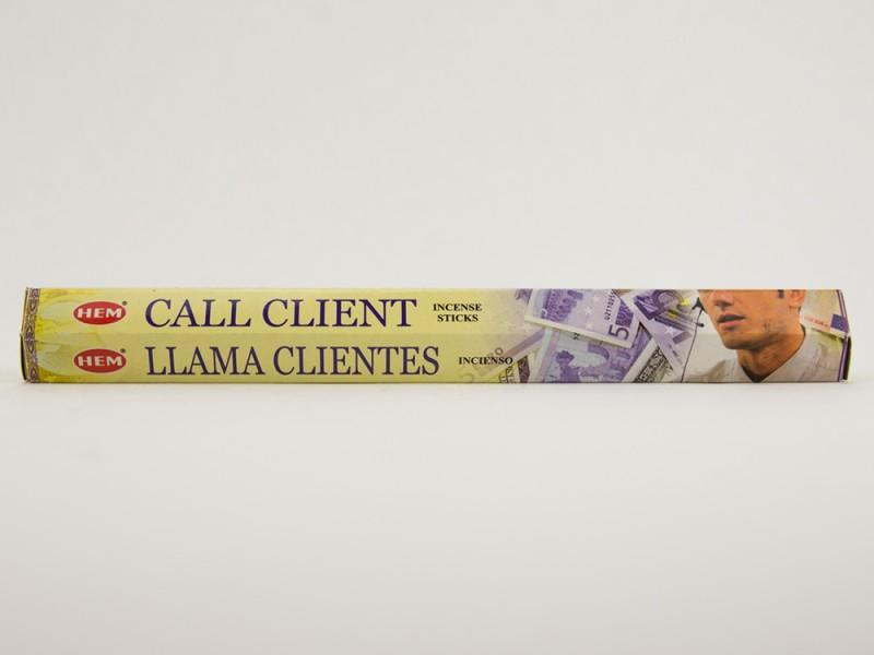 Аромапалочки HEM Call Client звонок клиента  Хем