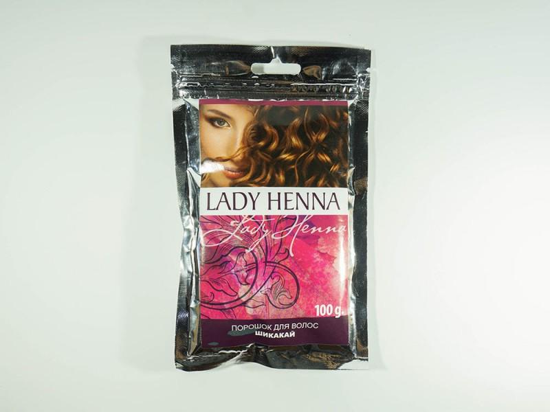 Порошок для мытья волос Шикакай 100 г Леди Хенна