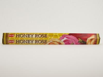 Аромапалочки HEM HONEY ROSE мед роза Хем
